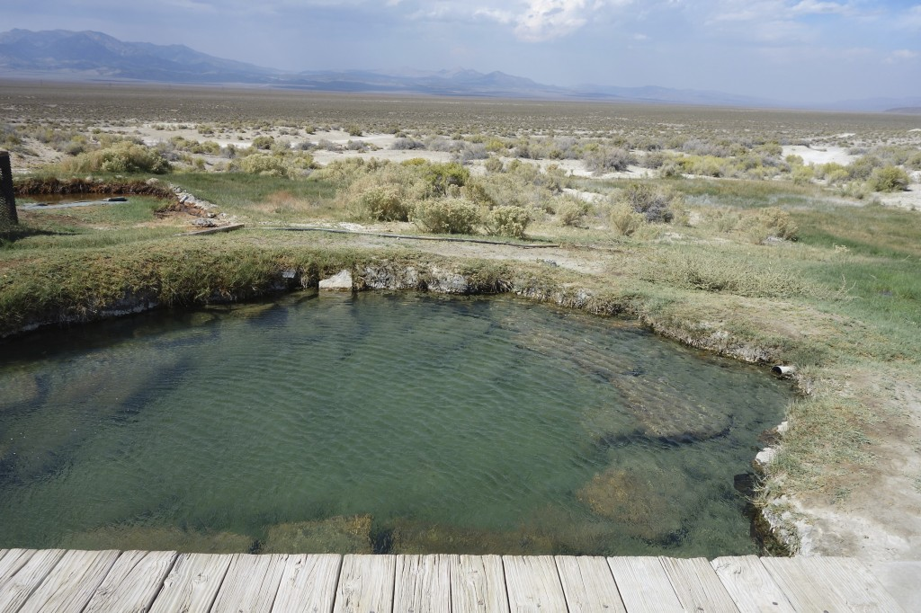 Hot springs, Nevada