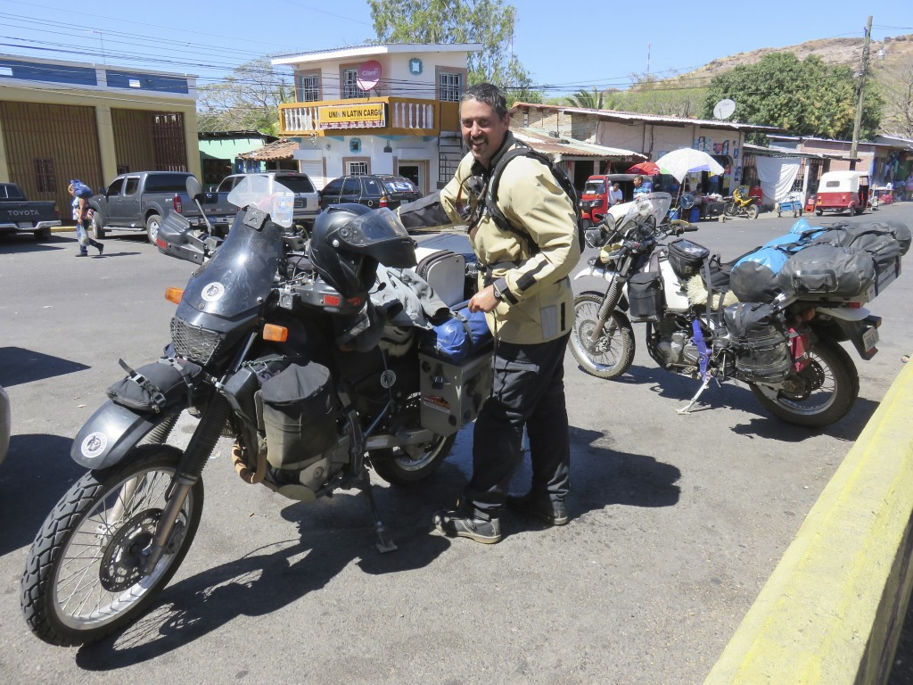 Entering Honduras for our fast ride across the country along the Pan-American highway.