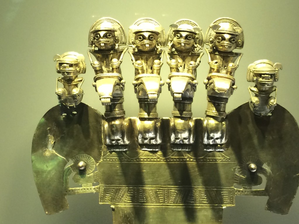 The Museo de Oro (Gold Museum) of Bogota is worth a visit if you are ever here.