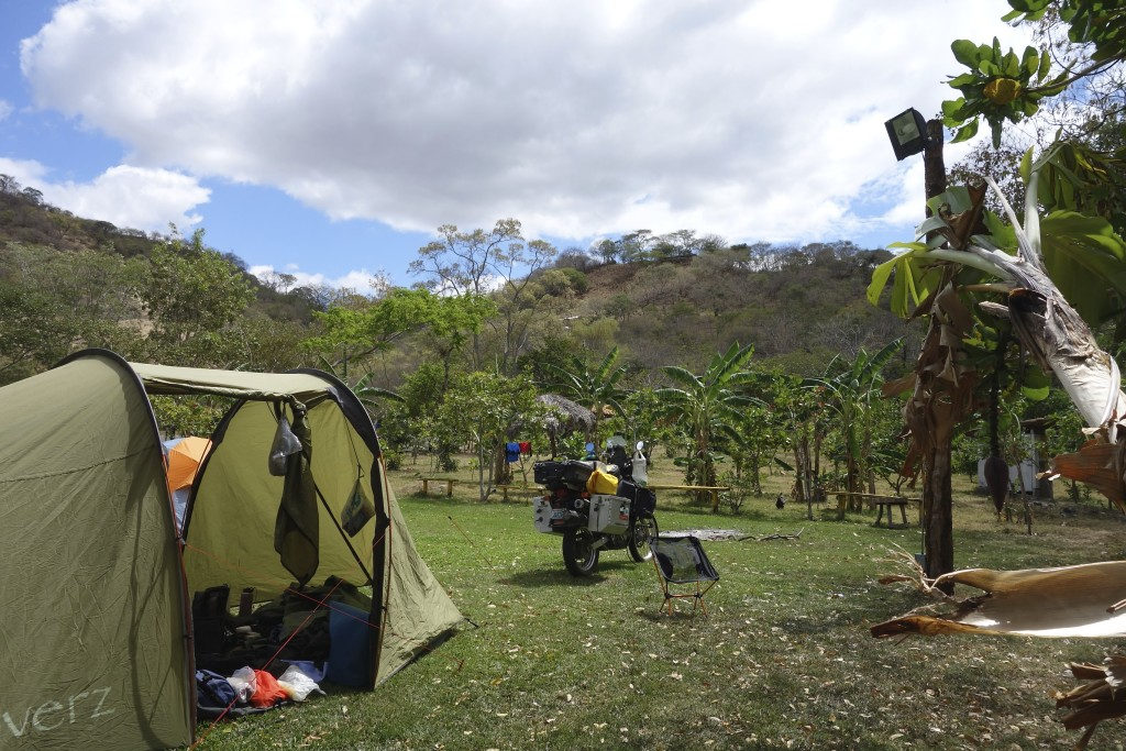 Our home on the road in Somoto Canyon, Nicaragua.