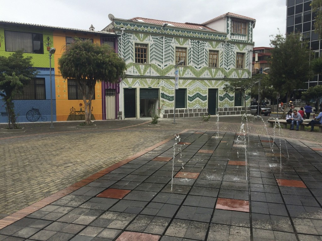 While a somewhat gritty town Quito did have some cute pockets here and there.