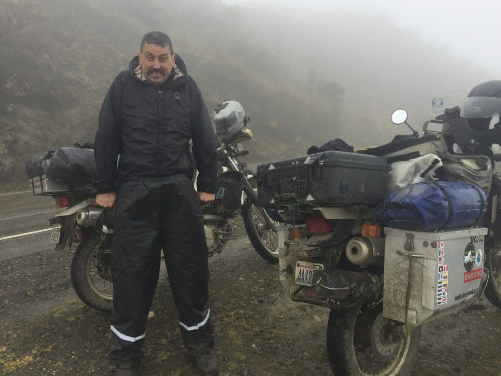 The mountain passes are VERY chilly. We finally broke out the heated vests that plug into the bike's electrical system. So cozy, we are wondering why we didn't do this sooner.