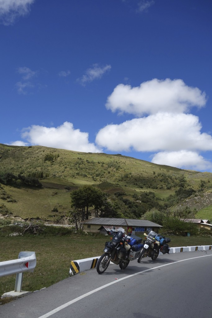 The good road from Celendin to Cajamarca. Our easiest Peru ride yet because it was the only time the day turned out as planned.