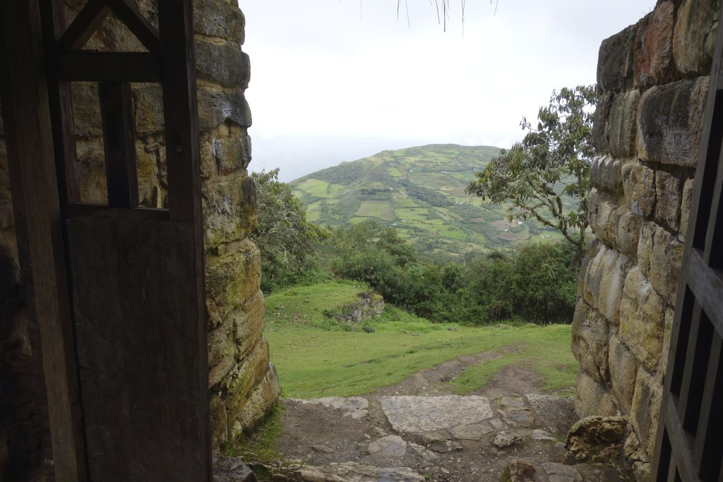 Once inside the Kuelap Ruins the view was unsurpassed in every direction.