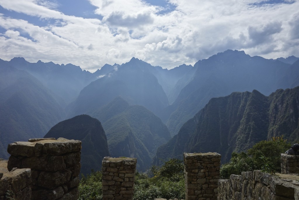 The mountains surrounding Machu Picchu are as spectacular as the site itself.