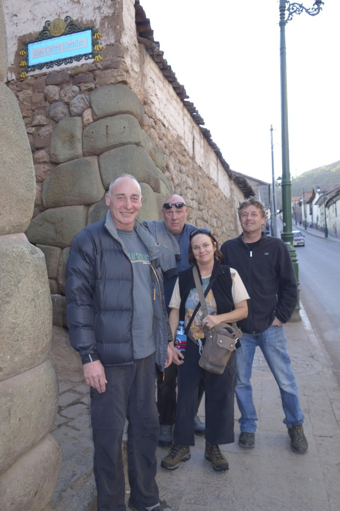 The Kiwi crew safe and sound in Cusco for a couple days of R&R before heading out again for Machu Picchu.