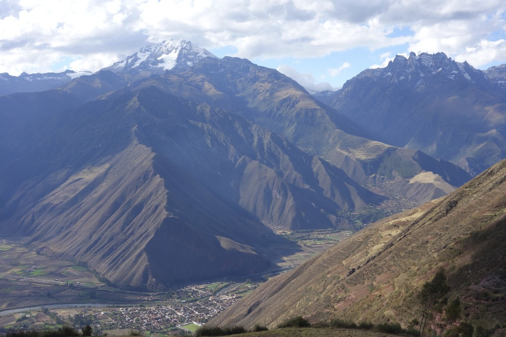 The Sacred Valley from above.