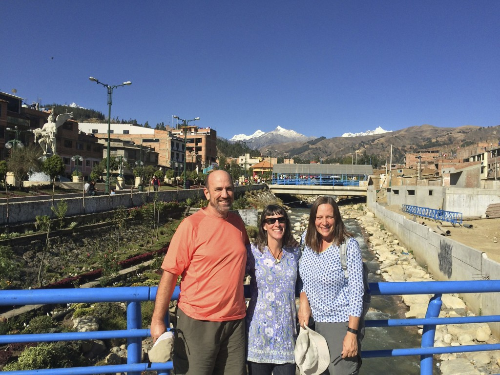 We met Carl and Kathleen way back in San Miguel de Allende, Mexico. They are riding two-up on a Yamaha Tenere heading south like us. Whenever it is possible we find each other along the way and spend time with these dear friends. Huaraz, Peru.
