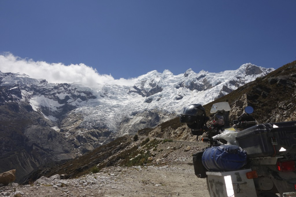 Riding through the Cordillera Blanca range in Central Peru feels like a trip to the Himalayas.