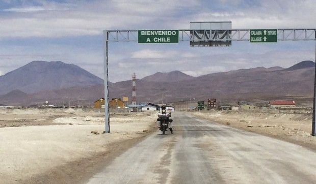Bolivia to Chile Border Crossing
