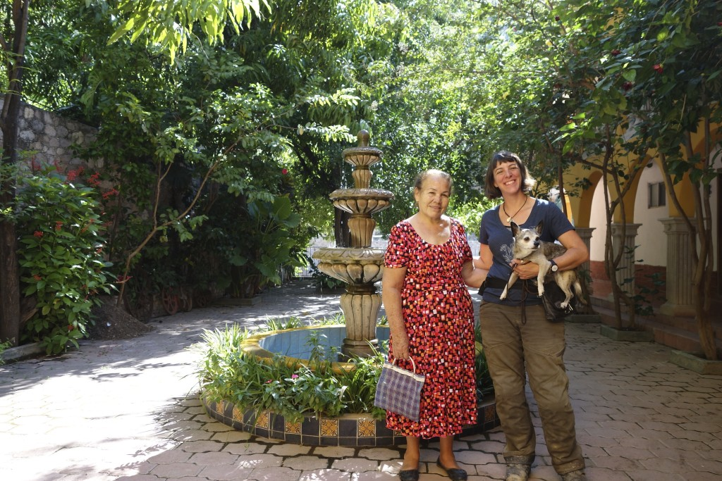 Miss Juanita ran a peaceful little hotel in Batopilas, Mexico. She liked us well enough but loved our chihuahua.