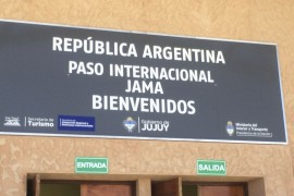 Chile to Argentina Border Crossing: Paso Jama