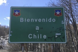 Argentina to Chile Border Crossing: Paso Cardenal