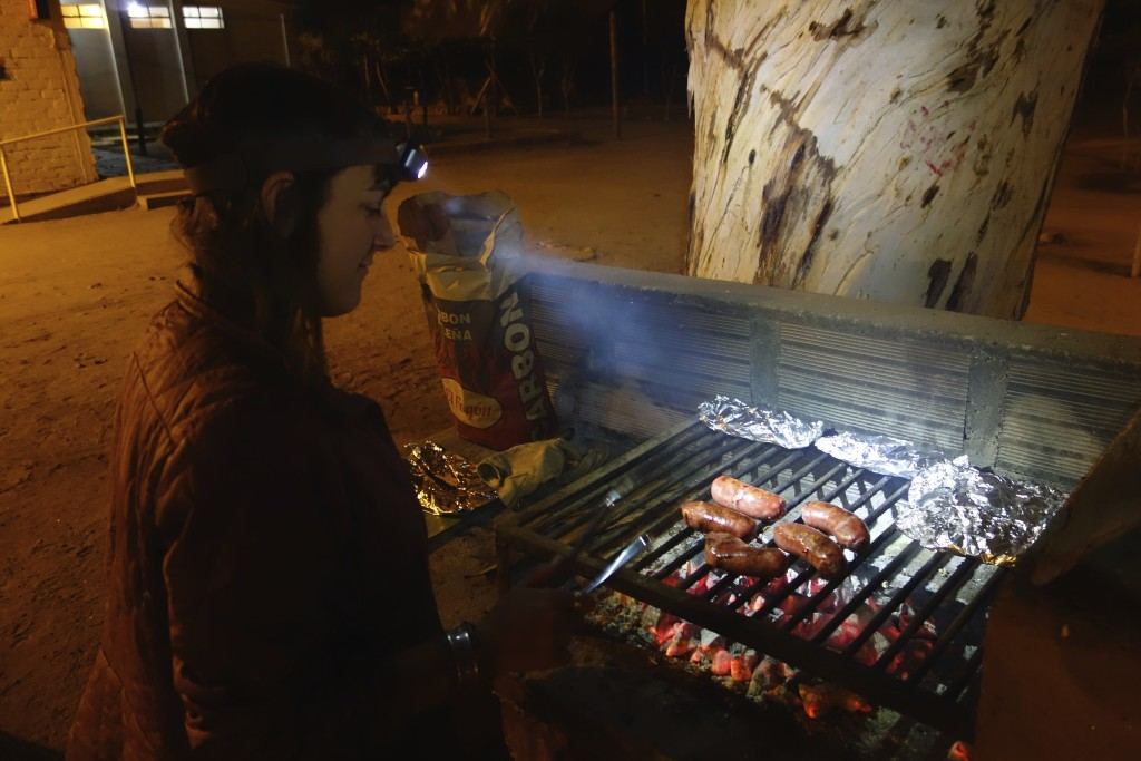Argentina runs on meat. Grilling your camp dinner is the norm and campgrounds are hopping on the weekends with Argentinian families out grilling for the day.