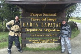 Hanging Our Toes Off the End of the World, Tierra del Fuego