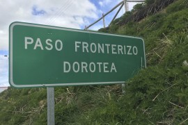 Argentina to Chile Border Crossing: Paso Dorotea