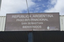 Chile to Argentina Border Crossing: Paso San Sebastian