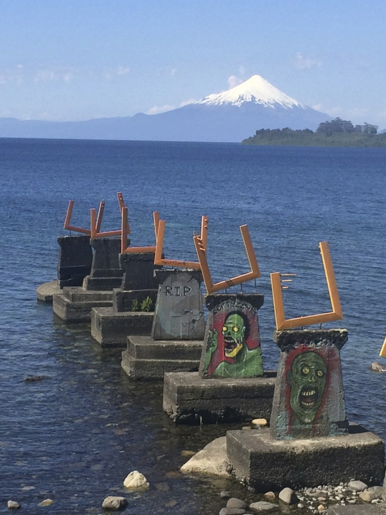 A little bit country, a little bit rock and roll. Puerto Varas, Chile.