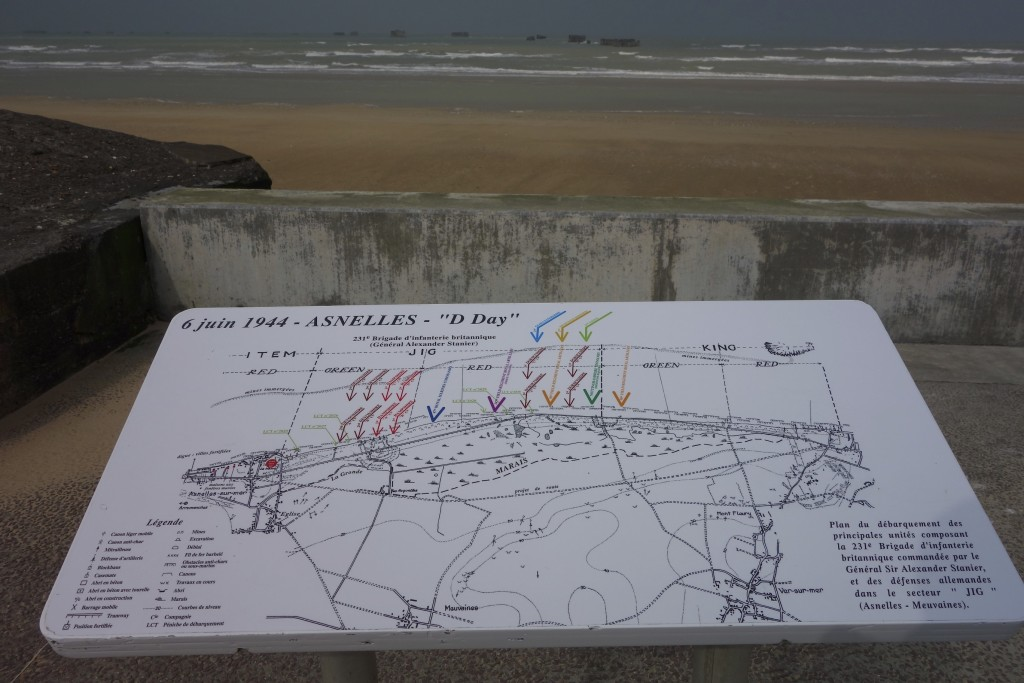 Normandy beaches are steeped in World War II history. We spent the day visiting sites and museums of the D-Day landings.