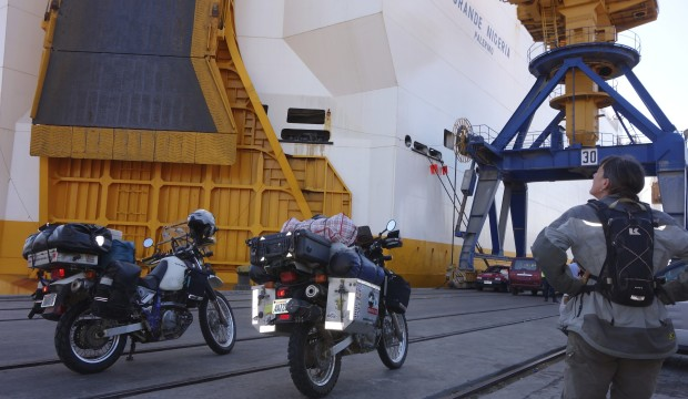 Five weeks on a cargo freighter across the Atlantic Ocean