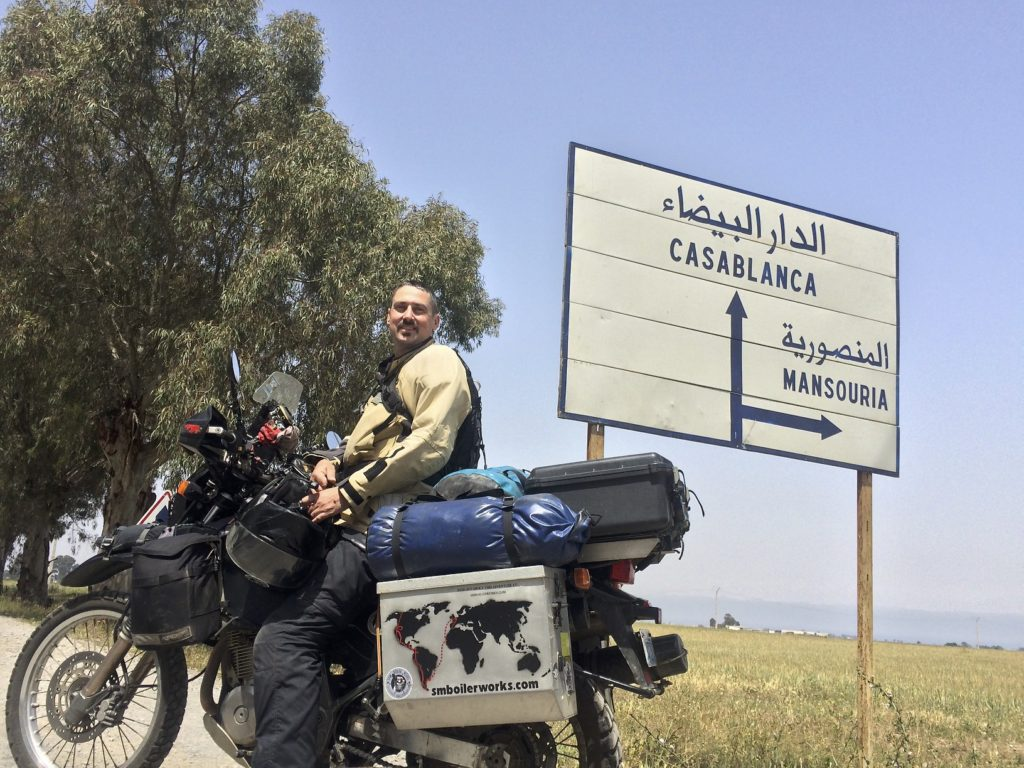 With the recent loss of my father still weighing heavy on my heart, it feels good to be moving through this amazing country under our own power and no schedule to keep. Time is helping to heal and the adventure of riding in North Africa is a good tonic as well.