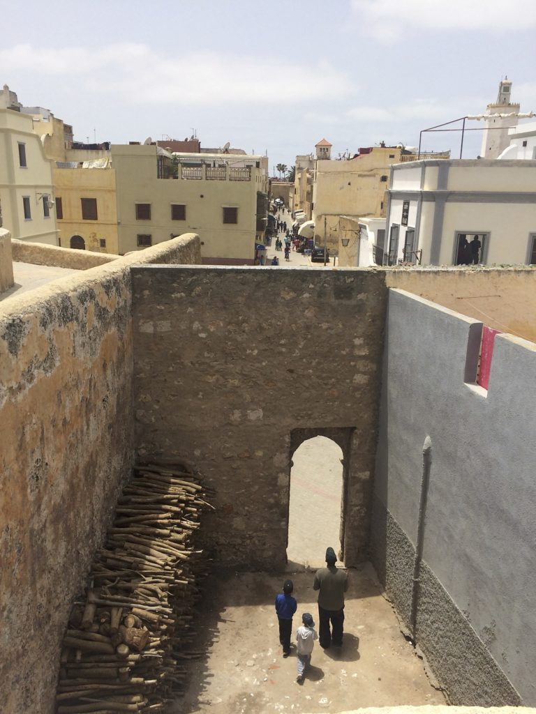 Inside the walled Portuguese fortress at El Jadida is a city unto itself.