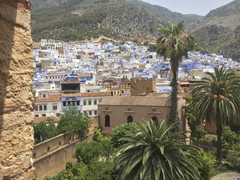 Chefchaouen, the blue city, is an idyllic little town in the Rif Mountains.