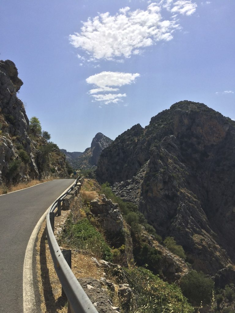 Spanish mountain roads are delicious. In places like this it is part of the journey to get a little lost. In the end you will find special places to discover and you always get where you need to go. Andalusia, Spain.