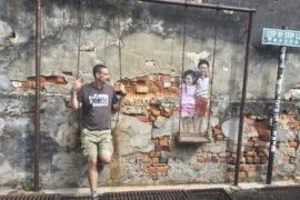 Georgetown, Penang street art slideshow